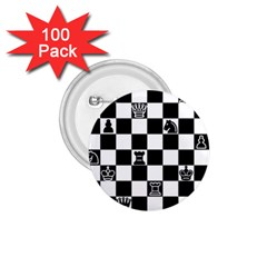 Chess 1 75  Buttons (100 Pack)  by Valentinaart