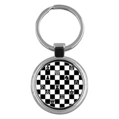 Chess Key Chains (round)  by Valentinaart