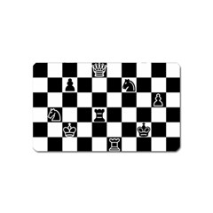 Chess Magnet (name Card) by Valentinaart