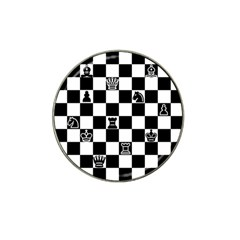 Chess Hat Clip Ball Marker (10 Pack) by Valentinaart