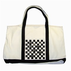 Chess Two Tone Tote Bag by Valentinaart