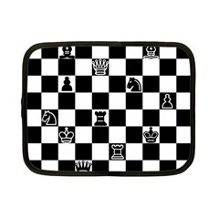 Chess Netbook Case (small)  by Valentinaart