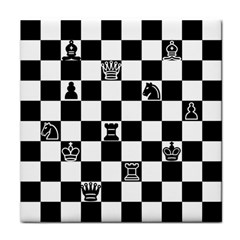 Chess Face Towel by Valentinaart