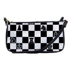 Chess Shoulder Clutch Bags by Valentinaart