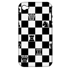Chess Apple Iphone 4/4s Hardshell Case (pc+silicone) by Valentinaart