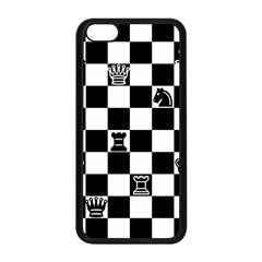 Chess Apple Iphone 5c Seamless Case (black) by Valentinaart