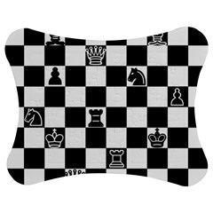 Chess Jigsaw Puzzle Photo Stand (bow) by Valentinaart