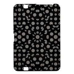 Dark Ditsy Floral Pattern Kindle Fire Hd 8 9  by dflcprints