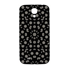 Dark Ditsy Floral Pattern Samsung Galaxy S4 I9500/i9505  Hardshell Back Case by dflcprints
