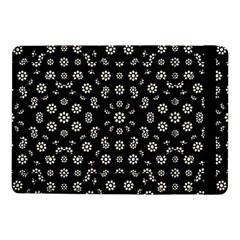 Dark Ditsy Floral Pattern Samsung Galaxy Tab Pro 10 1  Flip Case by dflcprints