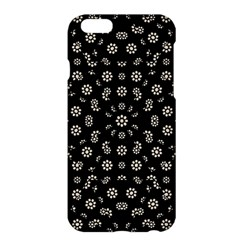 Dark Ditsy Floral Pattern Apple Iphone 6 Plus/6s Plus Hardshell Case by dflcprints