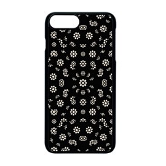 Dark Ditsy Floral Pattern Apple Iphone 7 Plus Seamless Case (black) by dflcprints