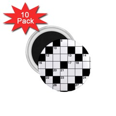 Crosswords  1 75  Magnets (10 Pack)  by Valentinaart