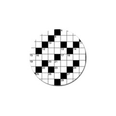 Crosswords  Golf Ball Marker (4 Pack) by Valentinaart