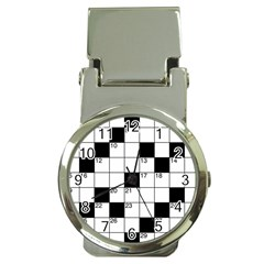 Crosswords  Money Clip Watches by Valentinaart