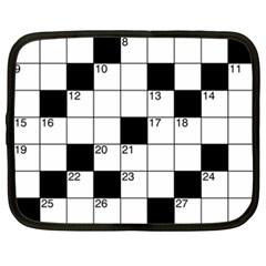 Crosswords  Netbook Case (xxl)  by Valentinaart