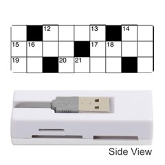 Crosswords  Memory Card Reader (stick)  by Valentinaart