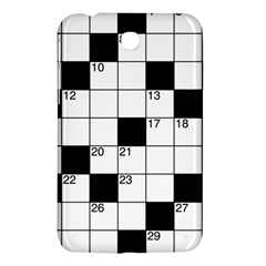 Crosswords  Samsung Galaxy Tab 3 (7 ) P3200 Hardshell Case  by Valentinaart