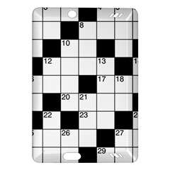 Crosswords  Amazon Kindle Fire Hd (2013) Hardshell Case by Valentinaart