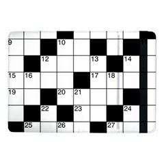 Crosswords  Samsung Galaxy Tab Pro 10 1  Flip Case by Valentinaart