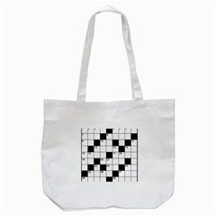Crosswords  Tote Bag (white) by Valentinaart