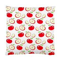 Apple Pattern Standard Cushion Case (one Side) by Valentinaart