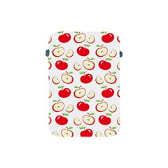 Apple Pattern Apple Ipad Mini Protective Soft Cases by Valentinaart