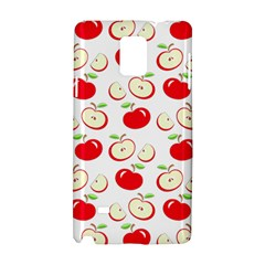 Apple Pattern Samsung Galaxy Note 4 Hardshell Case by Valentinaart