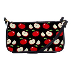 Apple Pattern Shoulder Clutch Bags by Valentinaart