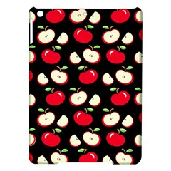 Apple Pattern Ipad Air Hardshell Cases by Valentinaart