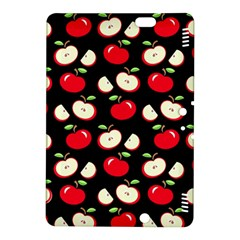 Apple Pattern Kindle Fire Hdx 8 9  Hardshell Case by Valentinaart