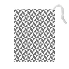 Pattern Drawstring Pouches (extra Large) by Valentinaart
