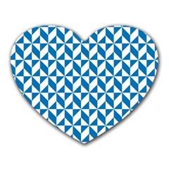 Pattern Heart Mousepads by Valentinaart