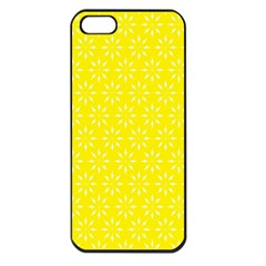 Pattern Apple Iphone 5 Seamless Case (black) by Valentinaart