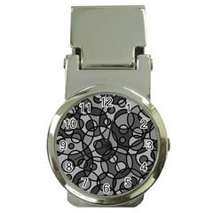Pattern Money Clip Watches by Valentinaart