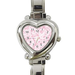 Pattern Heart Italian Charm Watch by Valentinaart