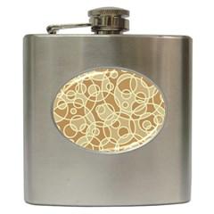 Pattern Hip Flask (6 Oz) by Valentinaart