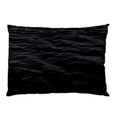 Dark Lake Ocean Pattern River Sea Pillow Case by Simbadda