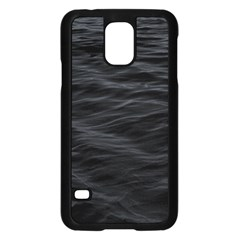 Dark Lake Ocean Pattern River Sea Samsung Galaxy S5 Case (black) by Simbadda