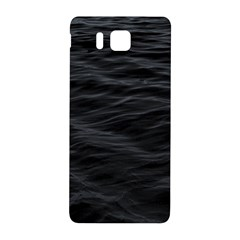Dark Lake Ocean Pattern River Sea Samsung Galaxy Alpha Hardshell Back Case by Simbadda