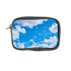Sky Blue Clouds Nature Amazing Coin Purse by Simbadda