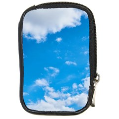 Sky Blue Clouds Nature Amazing Compact Camera Cases by Simbadda