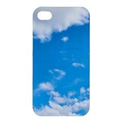 Sky Blue Clouds Nature Amazing Apple Iphone 4/4s Premium Hardshell Case by Simbadda