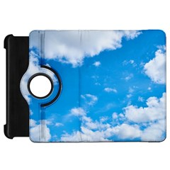 Sky Blue Clouds Nature Amazing Kindle Fire Hd 7  by Simbadda