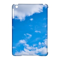 Sky Blue Clouds Nature Amazing Apple Ipad Mini Hardshell Case (compatible With Smart Cover) by Simbadda
