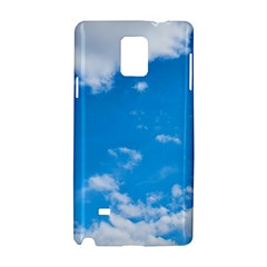 Sky Blue Clouds Nature Amazing Samsung Galaxy Note 4 Hardshell Case by Simbadda