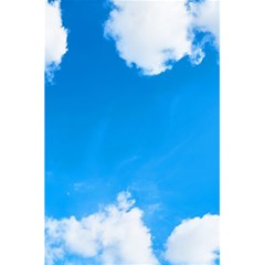 Sky Clouds Blue White Weather Air 5 5  X 8 5  Notebooks by Simbadda