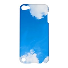 Sky Clouds Blue White Weather Air Apple Ipod Touch 5 Hardshell Case by Simbadda