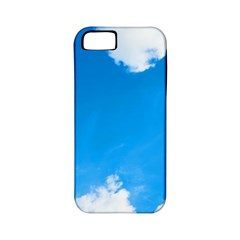 Sky Clouds Blue White Weather Air Apple Iphone 5 Classic Hardshell Case (pc+silicone) by Simbadda
