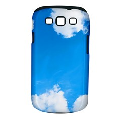 Sky Clouds Blue White Weather Air Samsung Galaxy S Iii Classic Hardshell Case (pc+silicone) by Simbadda